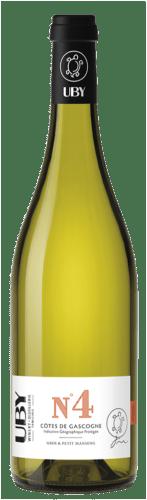 Côtes de Gascogne N°4 Blanc Moelleux Uby