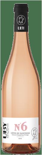 Côtes de Gascogne Cuvée N°6 Rosé Uby