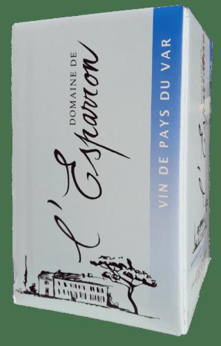 Vin de Pays du Var Rosé Château de l'Esparron 10 L