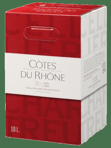 Côtes du Rhône Rouge Cellier des Chartreux 10 L