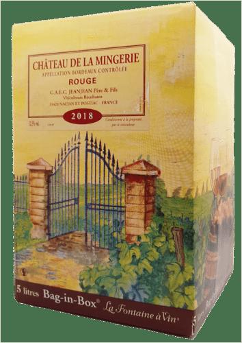 Bordeaux Rouge Château de la Mingerie 5 L