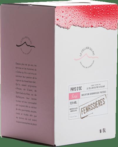 IGP Pays d'Oc Rosé Cuvée Fenassières Cellier du Pic 10 L