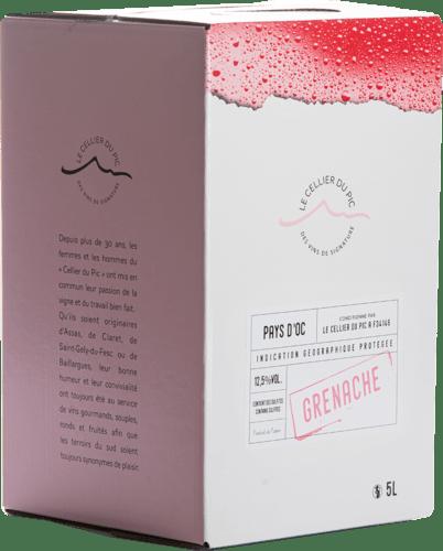 IGP Pays d'Oc Grenache Rosé Cellier du Pic 10 L