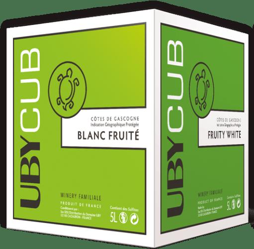 IGP Gascogne Blanc Sec et Fruité Domaine UBY 5 L