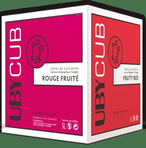 IGP Gascogne Rouge Fruité Domaine UBY 5 L