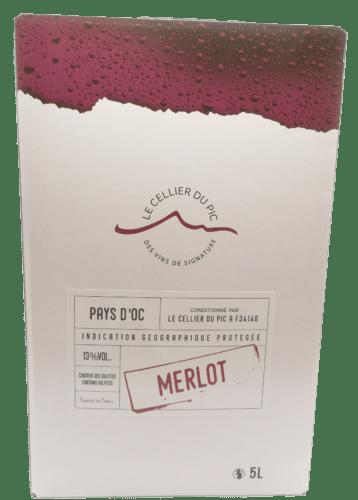 IGP Pays d'Oc Merlot 10 L