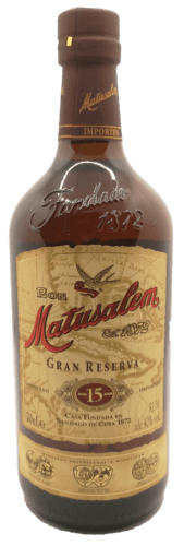 République Dominicaine Matusalem Grande Réserve 15 ans