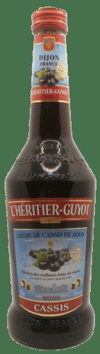 Crème de Cassis l'Héritier Guyot