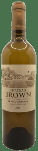 Pessac Léognan Blanc Château Brown