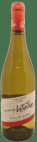 Côtes du Rhône blanc Les Caprice d'Antoine