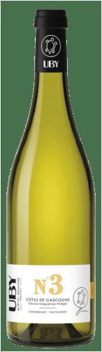 Côtes de Gascogne N°3 Uby Blanc Sec
