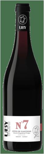 Côtes de Gascogne N°7 Rouge Merlot Tannat Uby
