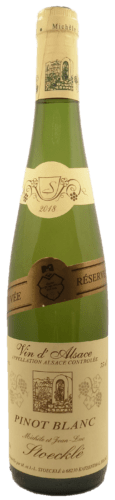 Pinot Blanc Famille Stoecklé
