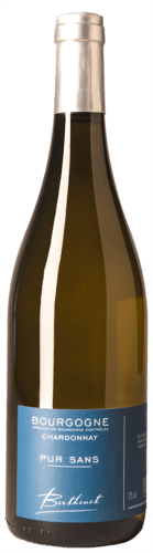 Bourgogne Chardonnay Domaine Berthenet Pur Sans